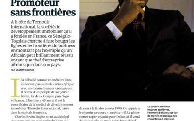 CCI Patrimoine Group – Article Forbes Afrique Janvier 2014