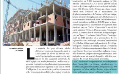 CCI Patrimoine Group – article Les Afriques Juillet 2014