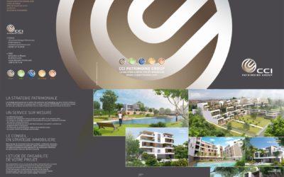CCI Patrimoine Group – Nouvelle plaquette commerciale