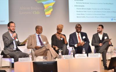 African Business Lawyer Club(ABLC) 6ème conférence annuelle sur l'urbanisation africaine au MEDEF